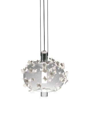Lladro Lighting-Freeze Frame Butterflies Ceiling Lamp