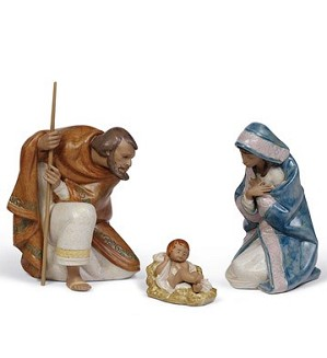 Lladro-SILENT NIGHT SET