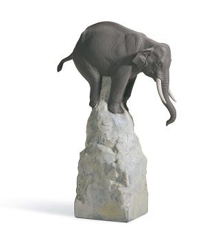 Lladro-Balance Elephant II