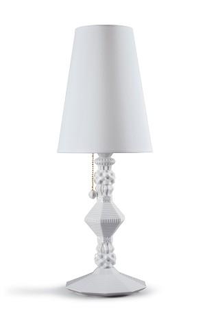 Lladro Lighting-Belle de Nuit Table Lamp White