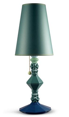 Lladro Lighting-Belle de Nuit Table Lamp Green