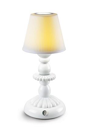 Lladro Lighting-Lotus Firefly Table Lamp White
