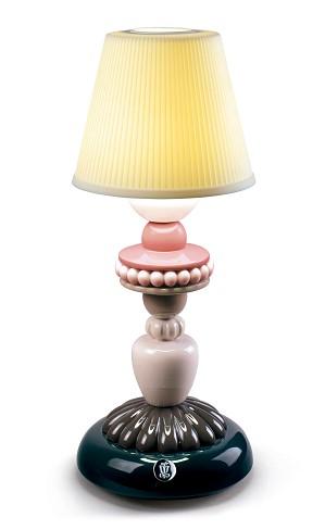 Lladro Lighting-Sunflower Firefly Table Lamp Black
