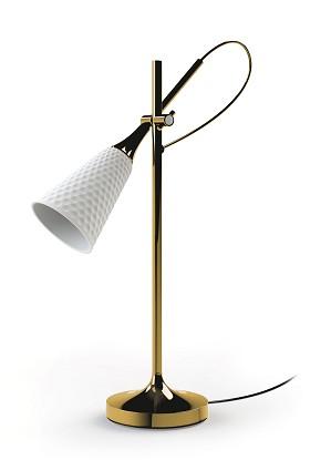 Lladro Lighting-Jamz Reading Lamp Gold