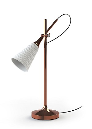 Lladro Lighting-Jamz Reading Lamp Copper