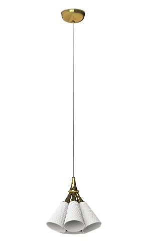 Lladro Lighting-Jamz Hanging Lamp Gold