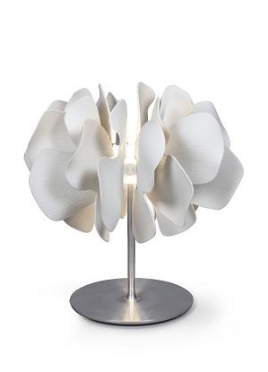 Lladro Lighting-Nightbloom Table Lamp White