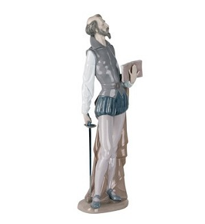 Nao Porcelain-DON QUIXOTE READING