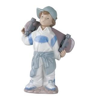 Nao Porcelain-LITTLE SKATEBOARDER