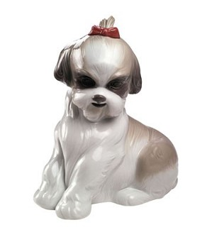 Nao Porcelain-PAMPERED SHIH-TZU