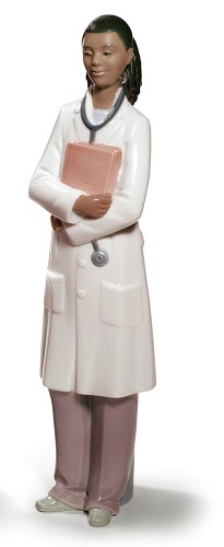 Nao Porcelain African American-DOCTOR FEMALE