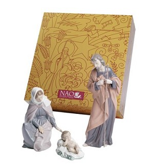 Nao Porcelain-NATIVITY SET