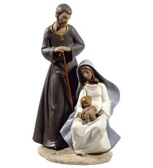 Nao Porcelain-THE HOLY FAMILY