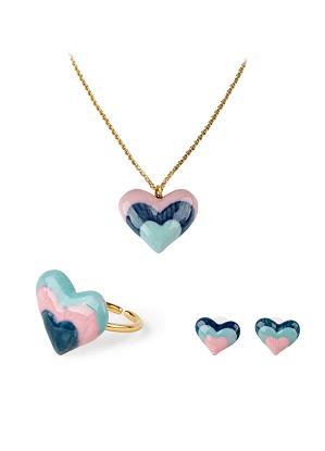 Lladro Jewelry-Rainbow 3 pieces Jewelry Set