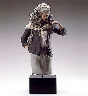Lladro-Young Lady With Parasol