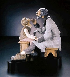 Lladro-Country Doctor