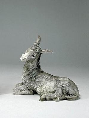 Giuseppe Armani-Donkey Signed By Giuseppe Armani