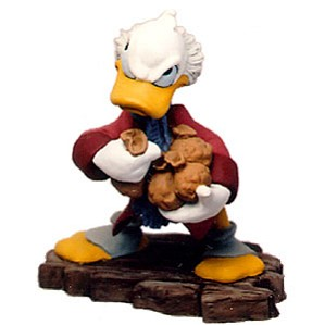 WDCC Disney Classics-Mickey Christmas Carol Scrooge Mcduck Ornament Bah-Humbug Ornament