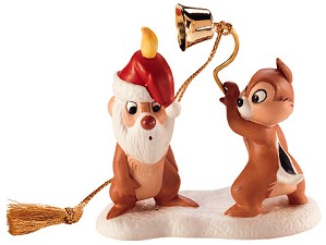WDCC Disney Classics-Plutos Christmas Tree Chip N' Dale Ornament (1997)