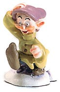 WDCC Disney Classics-Snow White Dopey Miniature