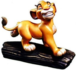 WDCC Disney Classics-The Lion King Simba Ornament