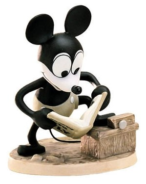 WDCC Disney Classics-Plane Crazy Mickey Mouse How To Fly