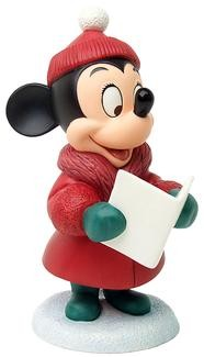 WDCC Disney Classics-Plutos Christmas Tree Minnie Mouse Caroler Minnie