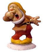 WDCC Disney Classics-Snow White Sneezy Miniature