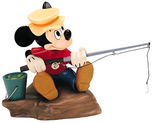 WDCC Disney Classics-The Simple Things Mickey Mouse Somethin Fishy