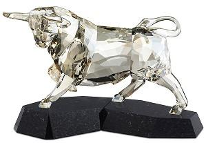 Swarovski Crystal-Bull White SoulMate