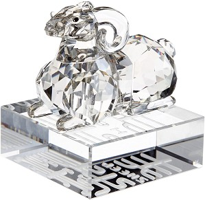 Swarovski Crystal-Chinese Zodiac Sheep