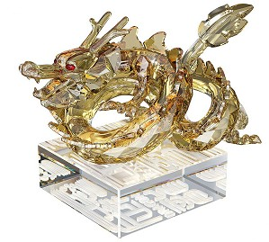 Swarovski Crystal-Chinese Zodiac Dragon large