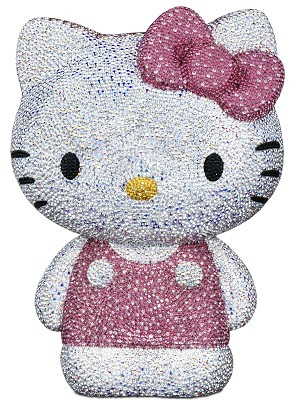Swarovski Crystal-Myriad Hello Kitty 2011 Pink Bow