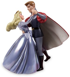 WDCC Disney Classics-Sleeping Beauty Princess Aurora And Prince Phillip A Dance In The Clouds (BLUE)