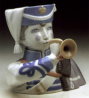 Lladro-Boy With Cornet 1971-73