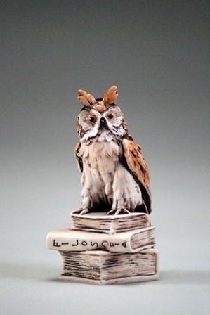 Giuseppe Armani-BOOK OWL
