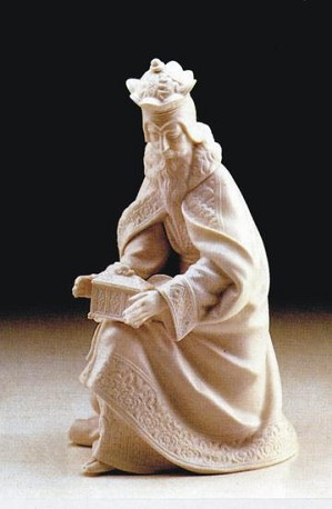 Lladro-King Melchior White 1983-85