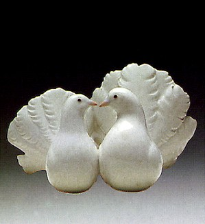 Lladro-Couple Of Doves