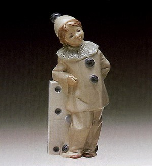 Lladro-Girl With Domino 1971-81