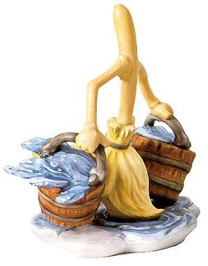 WDCC Disney Classics-Fantasia Broom Bucket Brigade