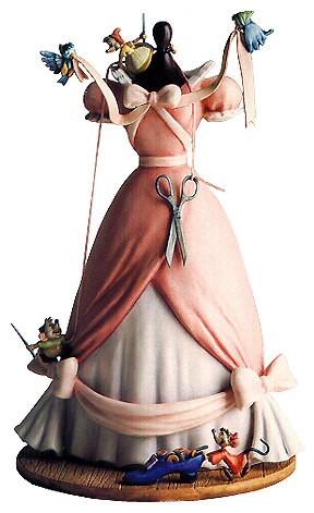 WDCC Disney Classics-Cinderella's Dress  A Lovely Dress For Cinderella