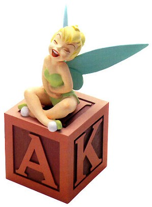 WDCC Disney Classics-Peter Pan Tinker Bell A Firefly A Pixie Amazing