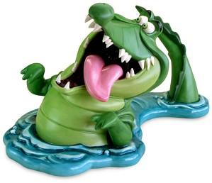 WDCC Disney Classics-Peter Pan Croc Tick-Tock, Tick-Tock