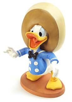 WDCC Disney Classics-Three Caballeros Donald Duck Amigo Donald