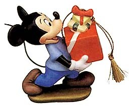 WDCC Disney Classics-Mickey Mouse Ornament