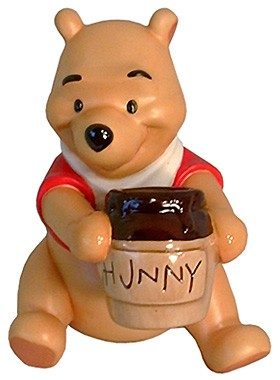 WDCC Disney Classics-Winnie The Pooh Time For Something Sweet