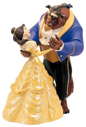 WDCC Disney Classics-Beauty And The Beast Belle And Beast Tale As Old As Time