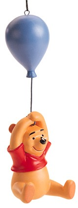 WDCC Disney Classics-Winnie The Pooh Ornament Up To The Honey Tree Ornament