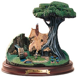 WDCC Disney Classics-Sleeping Beauty The Woodcutter's Cottage