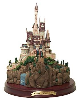 WDCC Disney Classics-Beauty And The Beast Beast's Castle